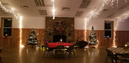 Assembly Hall Rental for Parties in Beverly, WV