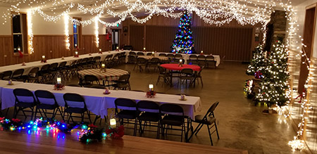 Rent a Building, Tent, Pavilion, Barn, or Banquet Hall at Camp Pioneer