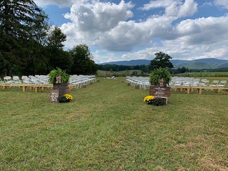 Mountaintop Weddings at Camp Pioneer