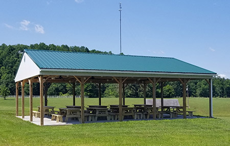 Peg/Polly Pavilion at Camp Pioneer
