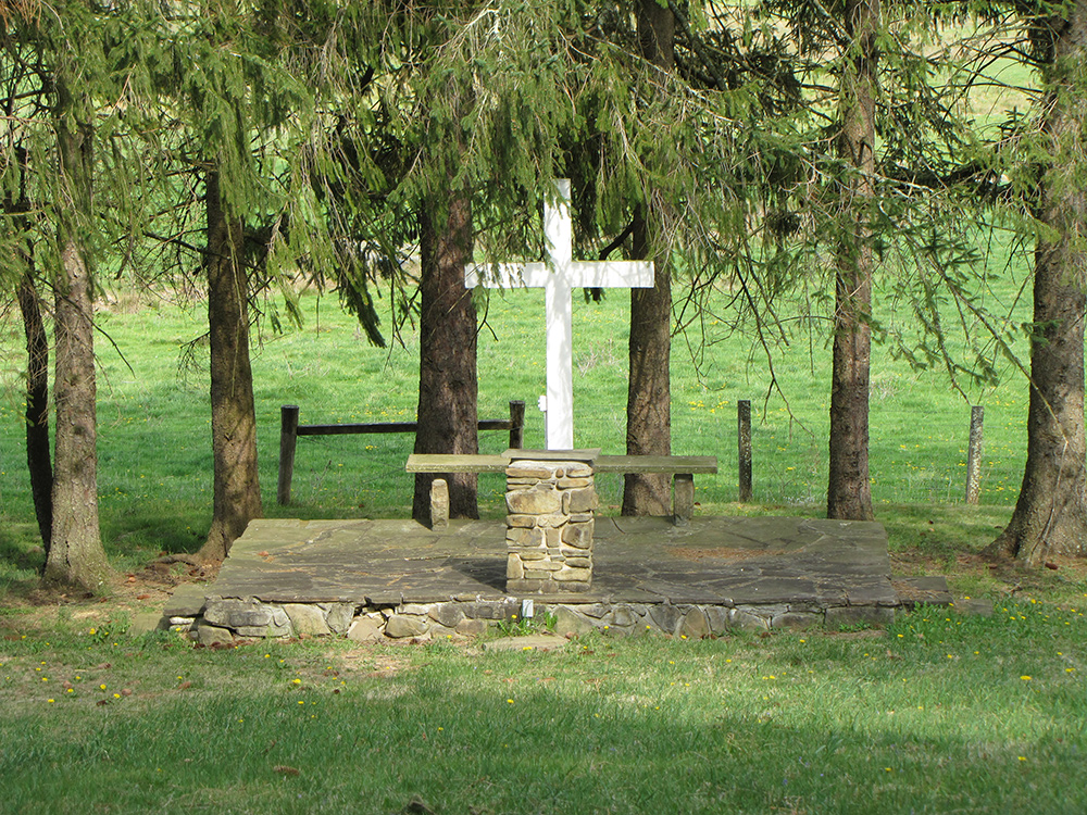 Vespers Knoll at Camp Pioneer in West Virginia