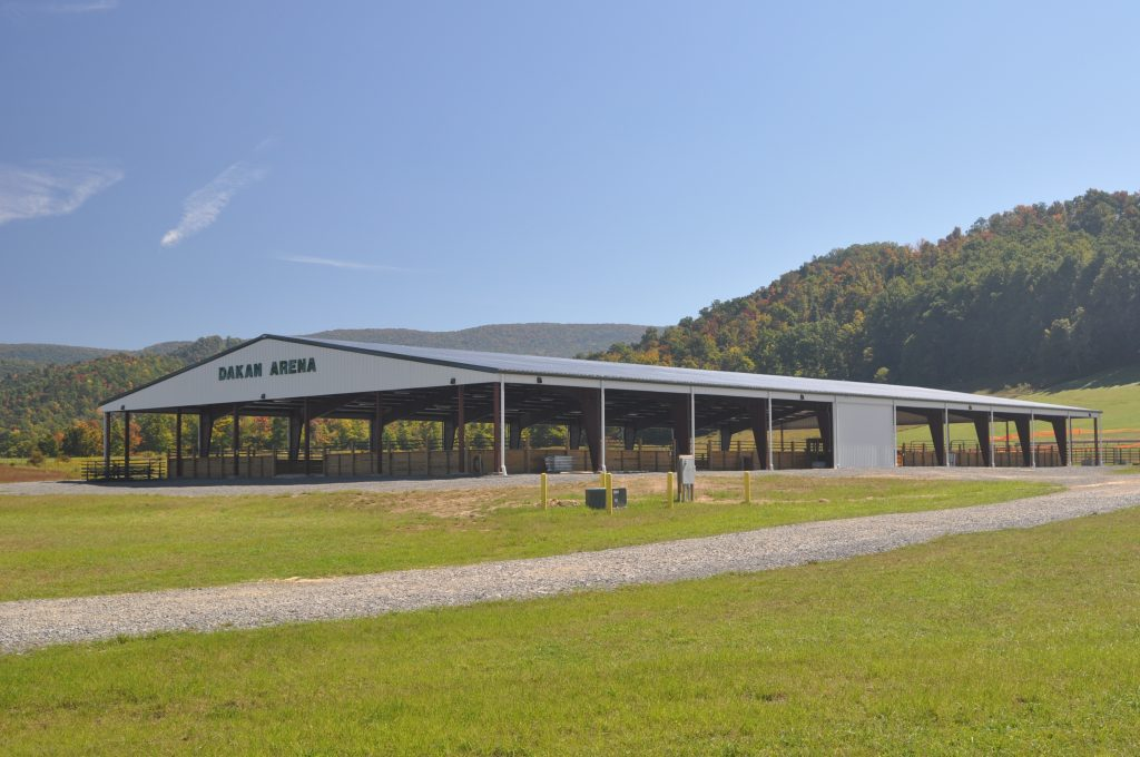 Dakan Arena at Camp Pioneer in Randolph County, WV