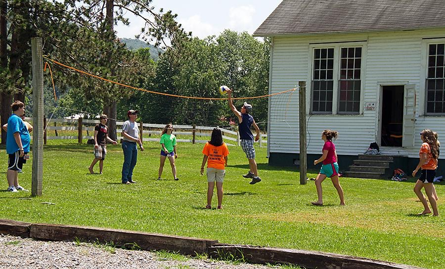 Rental facilities for church events at Camp Pioneer in Randolph County, WV