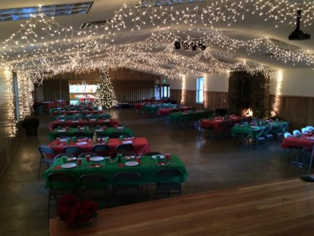 Rental facilities for parties and reunions in Randolph County, West Virginia
